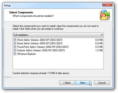 Ridurre il peso dei file Word, Powerpoint ed Excel (anche 2007)