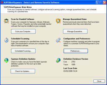 IMGSUPERAntiSpywareFull 345x272 Un potente antispyware portatile