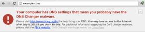 Il mio blog contro DNSChanger