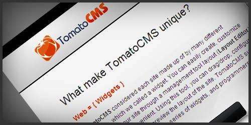 cover TomatoCMS: un CMS su base Zend, jQuery e 960 Grid System