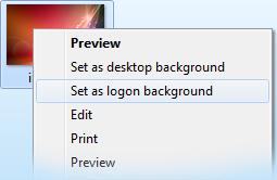 Cambiare la schermata di logon (avvio) di Windows 7