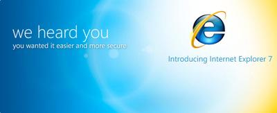 IE 7: finalmente il download senza WGA direttamente da Microsoft