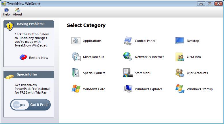 Agire sul registro di sistema di Windows in maniera sicura