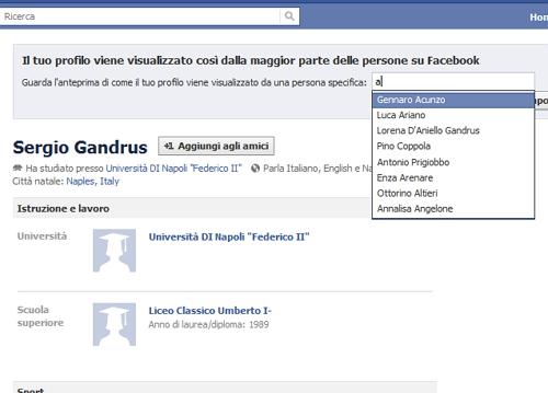 privacy3 Come vedono gli altri il mio profilo su Facebook?