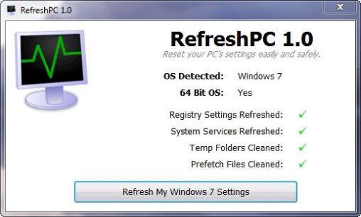 Resettare sistema operativo