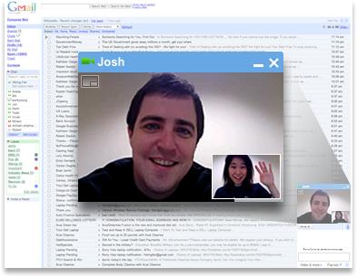 Gmail verso Skype con la videochat