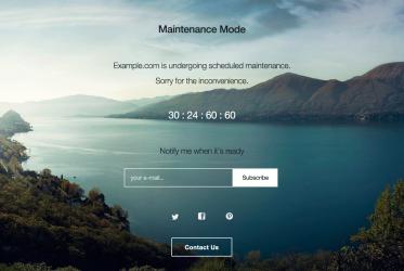 wp_maintenance