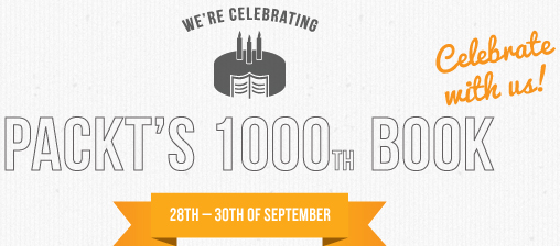 Ebook gratis: Packt Publishing festeggia la millesima pubblicazione