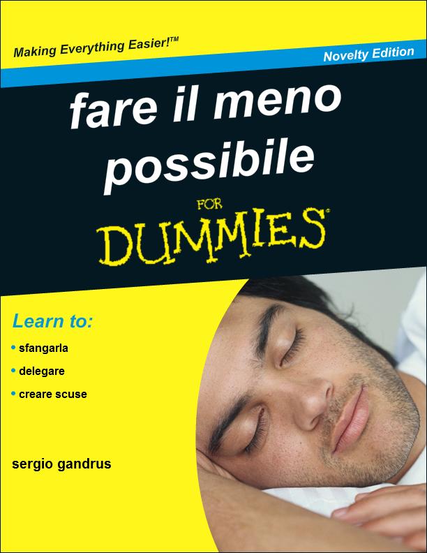 """Generatore di copertine """"for dummies"""""""