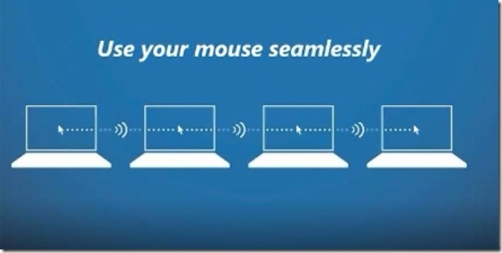 Controllare fino a 4 pc con un solo mouse e una sola tastiera