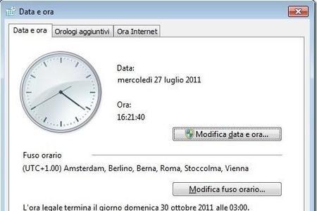 Sincronizzare l'orologio di sistema (Windows, Linux, Unix e BSD)
