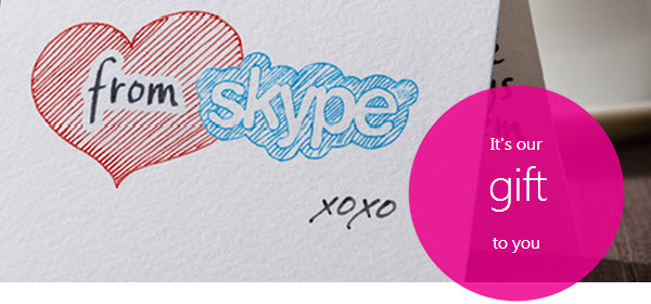 Skype: chiamate gratuite verso linee terrestri e cellulari